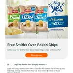 Free: Smith's Oven Baked Chips 130g @ Woolworths Everyday Rewards