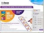 The Buzz Car Insurance - $40 Gift Card  - Victoria