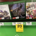 [XB1] Sekiro: Shadows Die Twice $20 @ Big W