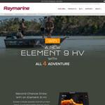 Win a Raymarine Element 9 HV Sonar/GPS Worth $1,799 from Raymarine