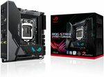 ASUS ROG STRIX Z490-I Mini ITX Motherboard $317.23 + $19.47 Delivery @ Amazon AU via US