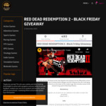Win 1 Key of Red Dead Redemption 2 (PC) Worth of $40 from ALLYOUPLAY.com