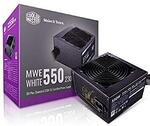 Cooler Master MWE 80Plus White 550W 230V 80Plus $55.20 Delivered @ Amazon AU