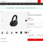 Sony WH-1000XM4 Noise Cancelling Headphones $328.13 + 2000 QFF Points + Delivery ($12) @ Qantas Store