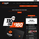 Boost Mobile $200 Prepaid 12 Month SIM with 110GB (30GB + 80GB Bonus) for $160 @ Boost Mobile