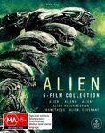 Alien: 6-Film Blu-Ray Collection (1-3 / Resurrection / PromeTheus / Covenant) $27.25 + Delivery ($0/W Prime/$39 Spend) @ Amazon