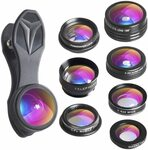 Apexel 7 in 1 Phone Camera Lens Kit $17.98 (Was $19.98) + Delivery ($0 with Prime/ $39 Spend) @ Aipai Optic via Amazon AU