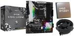 Ryzen 5 3600 CPU + Asrock B450M Steel Legend Motherboard Bundle $389 Delivered @ PC Byte