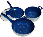 Bluestone 4pc 28cm Cookset $79.95 (RRP $499) + $10 Delivery + More Discounted Kitchenware @ Harris Scarfe