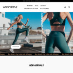 Women's Day Sale: 50% off Women's Activewear (Free Shipping over $50 Spend) @ Wrapdrive
