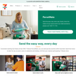 Send a Regular-Sized Parcel for $5 (Save $6) on Mondays with ParcelMate @ 7-Eleven