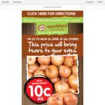 [WA] Brown Onions $0.10/kg @ SpudShed