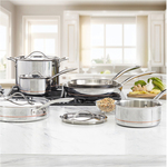 Kirkland Signature 5 ply 10pc Stainless Steel Cookware Set $269.99 in-Store ($70 off) @ Costco (Membership Required)