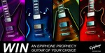 Win an Epiphone Prophecy Guitar Worth $2,099 from Mannys