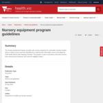 [VIC] Free Nursery Equipment Program: Car Seat/Booster Seat, Cot, Mattress & Mattress Protector @ DHHS VIC