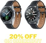 Samsung Galaxy Watch 3 Bluetooth 45mm - Mystic Black $359.20 ($350.22 eBay Plus) Delivered @ cheap_stylus eBay