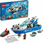 LEGO City Police Patrol Boat 60277 Building Kit $42.91 Delivered @ Amazon AU