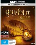 Harry Potter - The Complete Collection 4K UHD Blu-Ray $103.07 + Delivery ($0 C&C/ in-Store) @ JB Hi-Fi