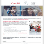 Free Training & Exam voucher - CompTIA IT Fundamentals (ITF+) + Free Extras (valued about $1500)