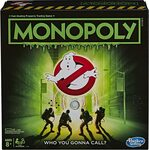 MONOPOLY - Ghostbusters Edition - Movie Inspired Game $13.62 + Delivery ($0 with Prime/ $39 Spend) @ Amazon AU