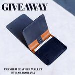 Win a Sublime Full Grain Leather Wallet from Karakoram2