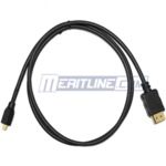 6' High Speed HDMI with Ethernet Micro HDMI to HDMI Cable - USD3.49 Delivered