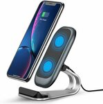 10W Wireless Charging Stand $9.99 + Delivery ($0 with Prime/ $39 Spend) @ SY Direct via Amazon