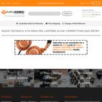Win a Pair of Audio Technica ATH-M50x MO Lantern Glow Headphones Worth $279 from Minidisc