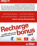 20% off Every 3rd Mobile Prepaid Recharge at AusPost
