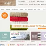 Adairs Essentials Sale - Save Up To 50% Off Bed Linen, Towels and Bedding