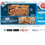 Domino's $5: Value Range Large Pizza, $6 Traditional Large Pizzas Pickup