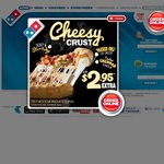 Domino's 3 Large Traditional Pizzas + Garlic Bread + 1.25lt Coke / Delivered for $25.00