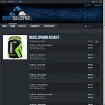 MusclePharm Assault Pre-Workout - 32 Serves - ONLY $39.96