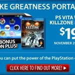$199 PS Vita Wi-Fi with 3g Model + Killzone Mercenary and 30 Day PS Plus @ EB Games