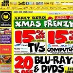 20% off CDs* Blu-Ray, DVDs, & Other % off Deals at JB Hi-Fi - Til Sunday