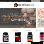 Vitamins, Protein Powder, Pre Workout, and More! 10% off Storewide until 15th Jan 14