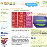 OzLabels - Kids Name and Clothing Labels - 20% OFF STOREWIDE - 24hour DISPATCH