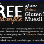 FREE: Carman's Deluxe Muesli Cereal Sample (Delivered) 2000 Only