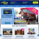 10% off Selected The London Pass and The Paris Pass