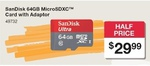 SanDisk Ultra 64GB MicroSD $29.99, TDK 64GB USB 3.0 $29.99, Canon SX610HS $149 @ Australia Post