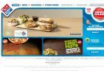 Domino's Pizza $4.95 Traditonial Pizza's