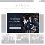 Frenzy 40% off Sitewide @ Van Heusen