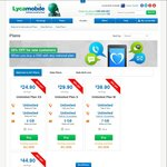 Lycamobile - 50% off (First Month) for New Customers