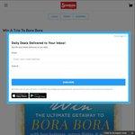 Win a Trip for 2 to Bora Bora Worth $9710 @ Scoopon