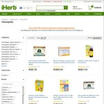 15% off Homeopathy Items @ iHerb