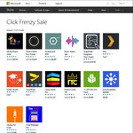 Click Frenzy at Microsoft App Store (Free and Discounted Apps, etc.)