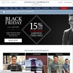 Charles Tyrwhitt - 15% off (Black Friday Sale)