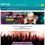 Win a Share of Over $1,000,000 Worth of Instant Prizes Daily & 1 of 5 $10,000 Ticketmaster Gift Cards from Optus