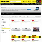 10% off Apple Mac Computers and Microsoft Surface - 2 Days Only @ JB Hi-Fi