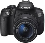 Canon 700D DSLR Camera with 18-55mm Lens for $523 @ Harvey Norman after $75 Cashback ($598 before cashback) + More